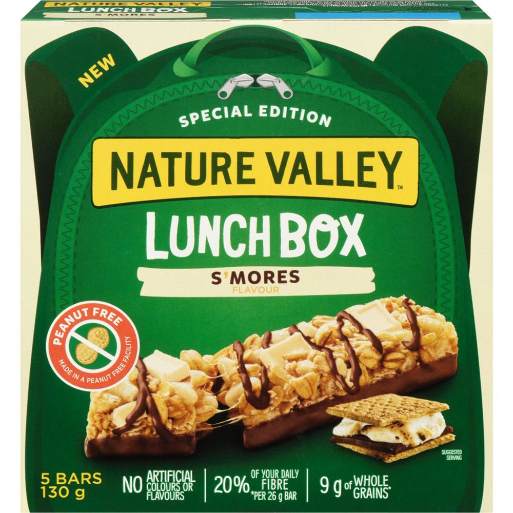 Lunchbox granola bars limited edition crunchy