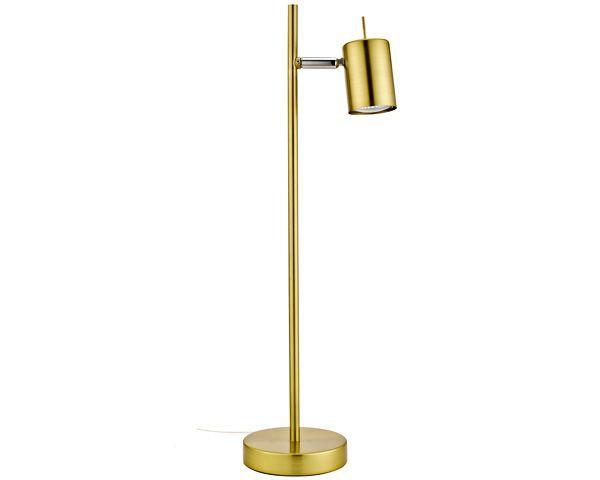 Lámpara escritorio 1 luz silo bronce pulido gu10