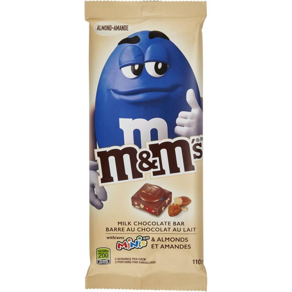 Milk Chocolate Bar with Minis & Almonds
