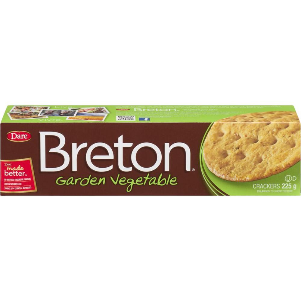 Crackers garden vegetable