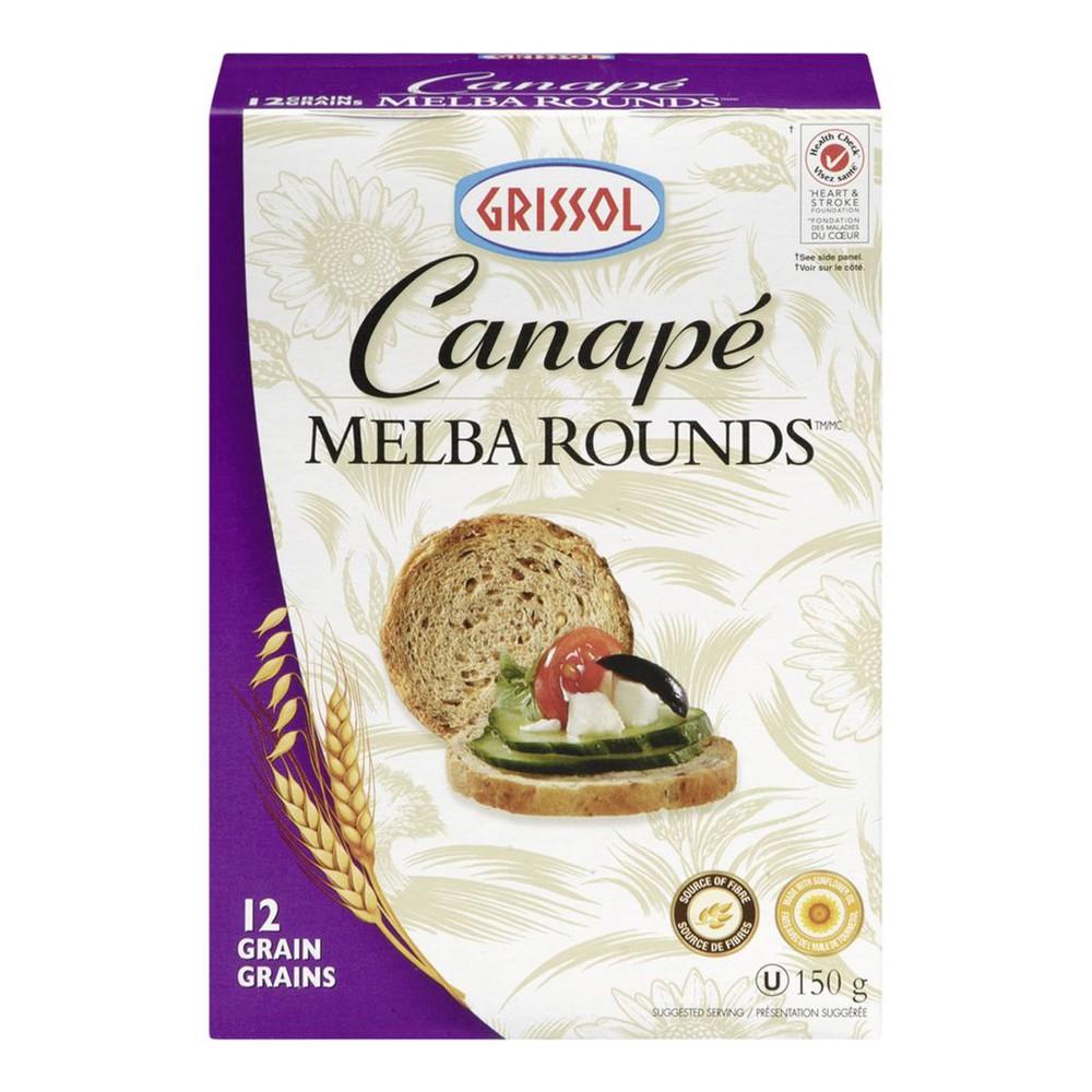Canapé Melba Rounds, 12 Grain