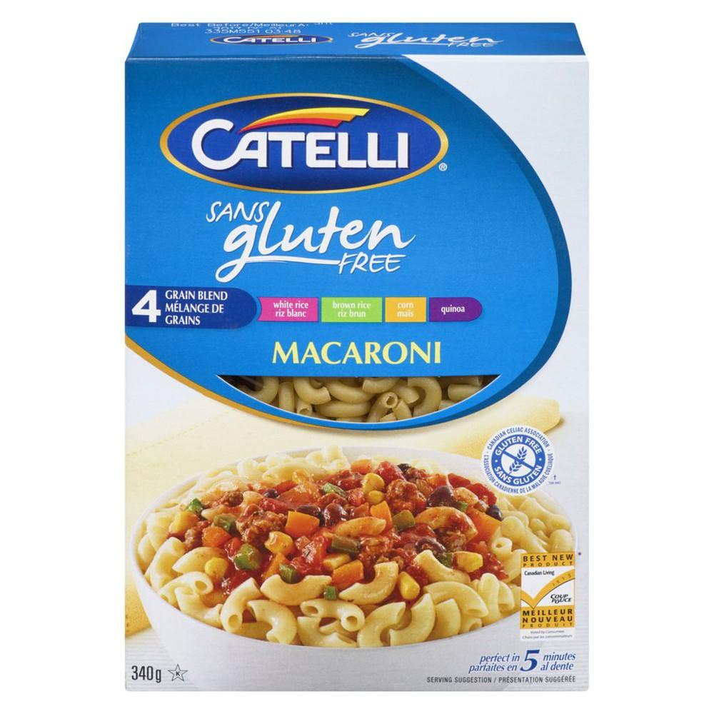 Gluten free macaroni