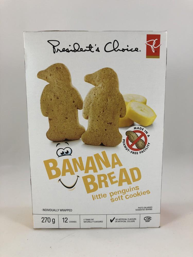 Little Penguins Banana Bread Soft Cookies