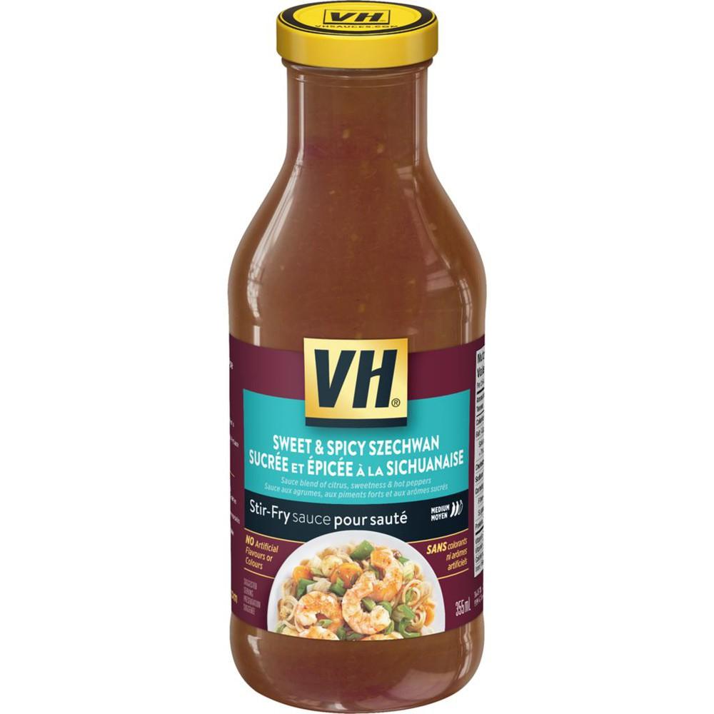 Stir-fry sauce szechwan