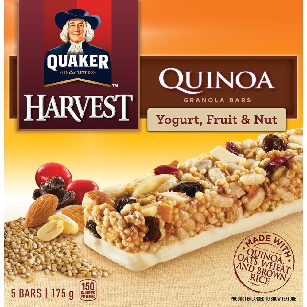 Harvest Granola Bars, Quinoa - Yogurt, Fruit & Nut