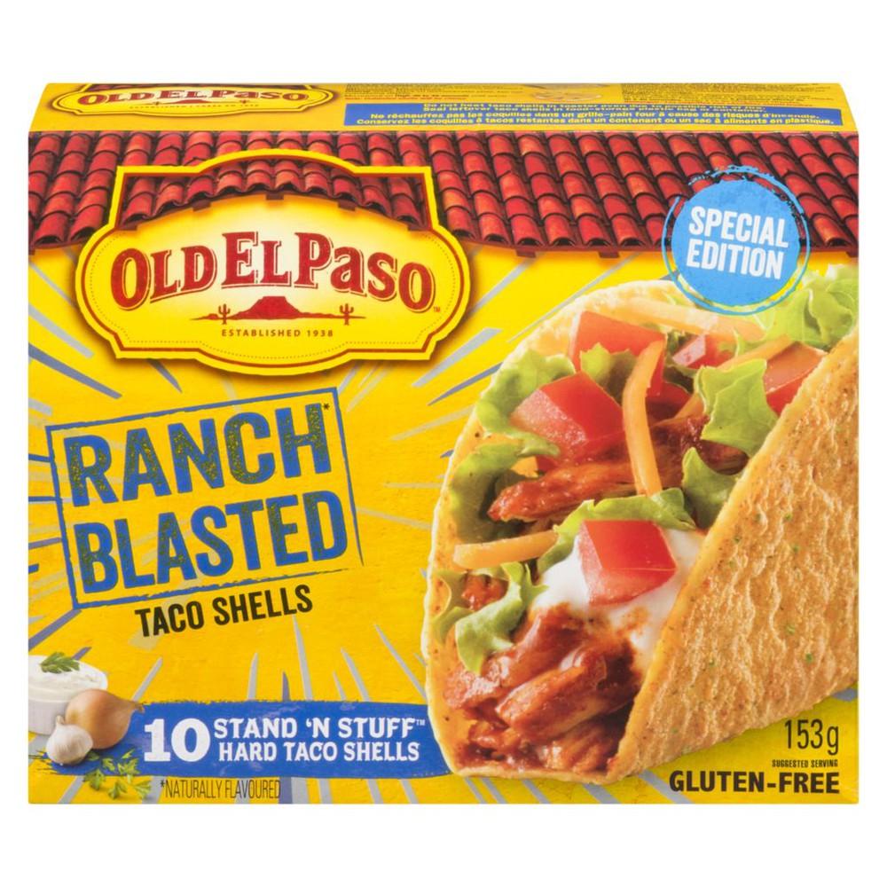 Taco Shells, Ranch