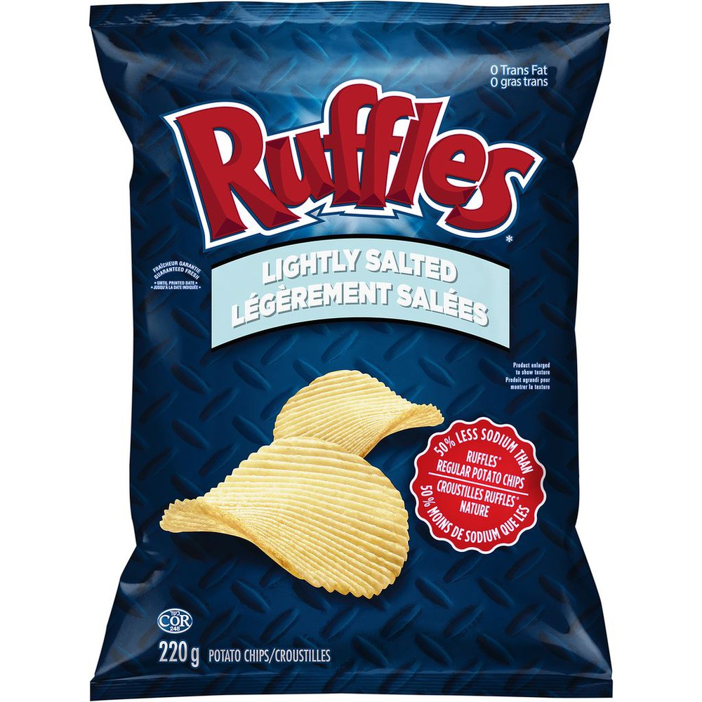 Potato Chips, Lightly Salted
