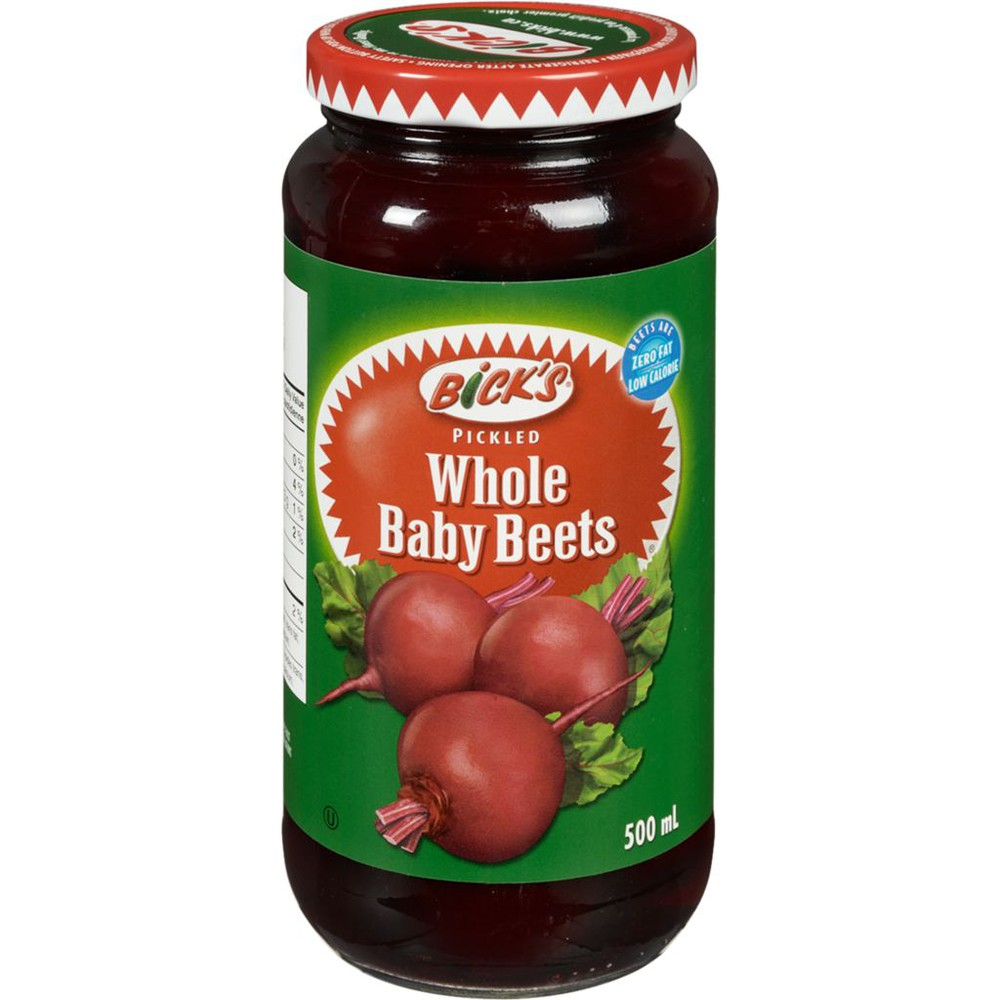 Pickled whole baby beets