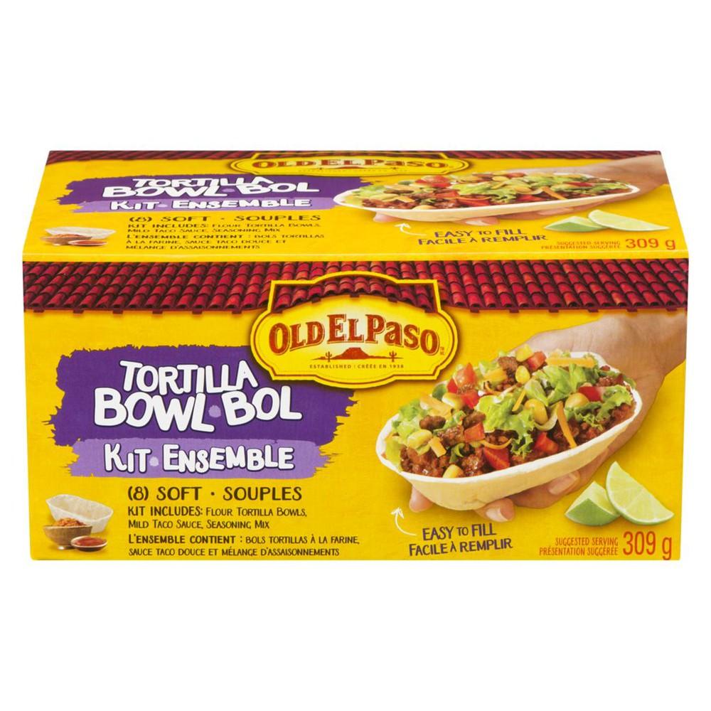 Tortilla Bowl Kit