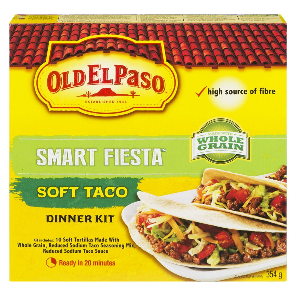 Smart Fiesta Dinner Kit, Soft Taco