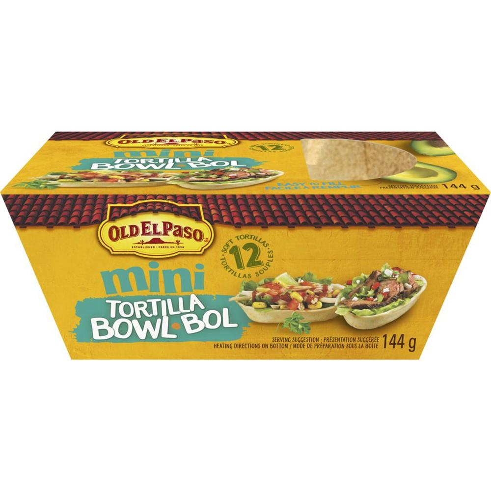 Mini Tortilla Bowl