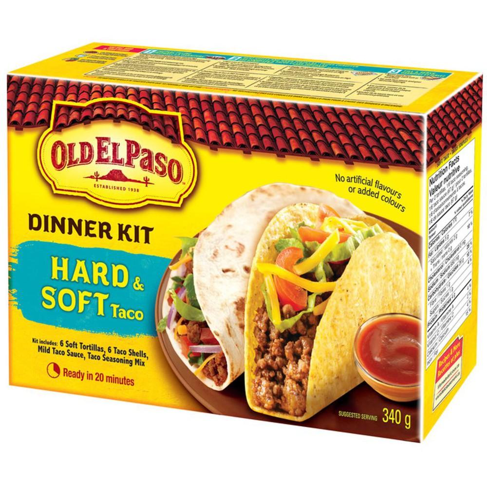 Taco Hard and Soft Shell Dinner Kit