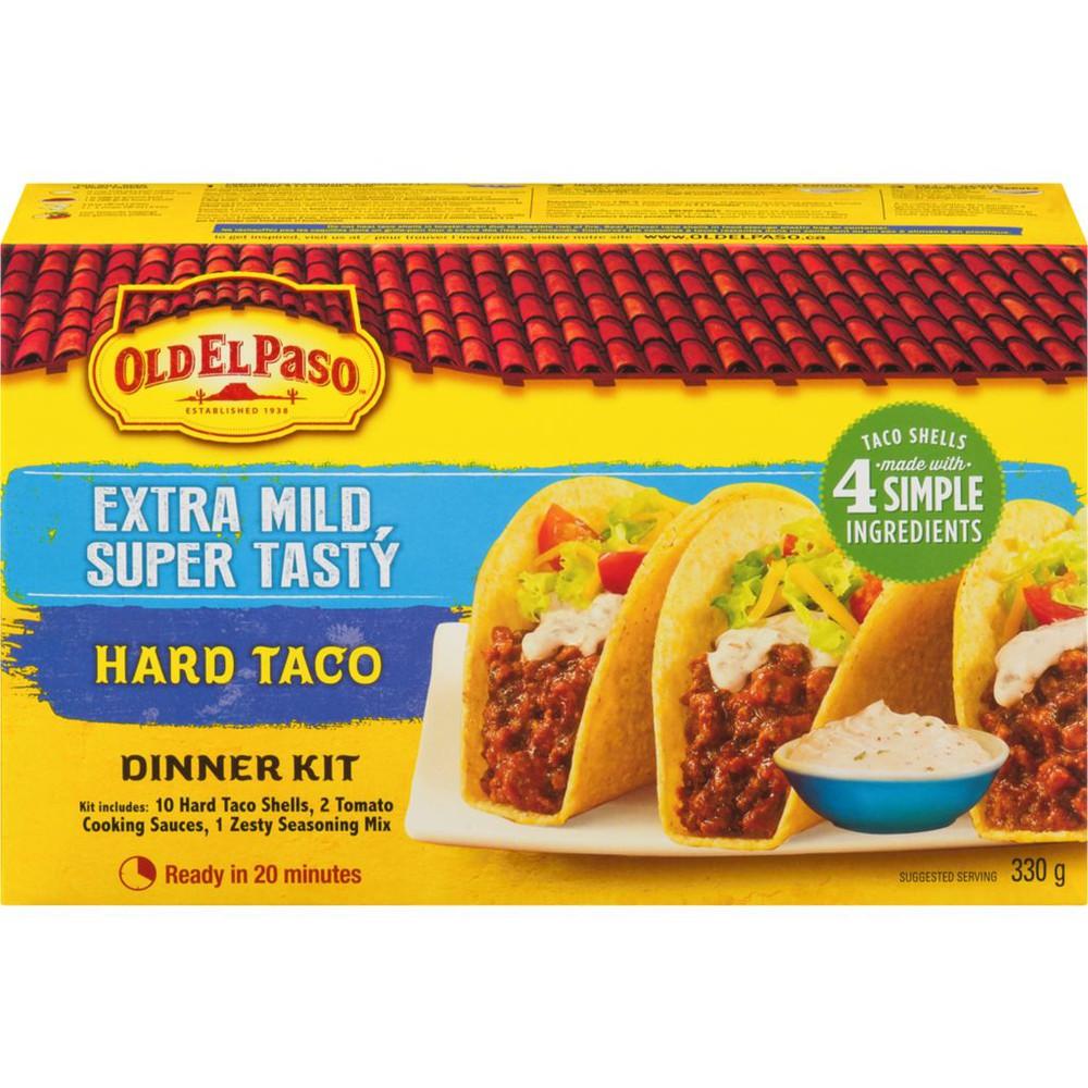 Hard Taco Dinner Kit, Extra Mild