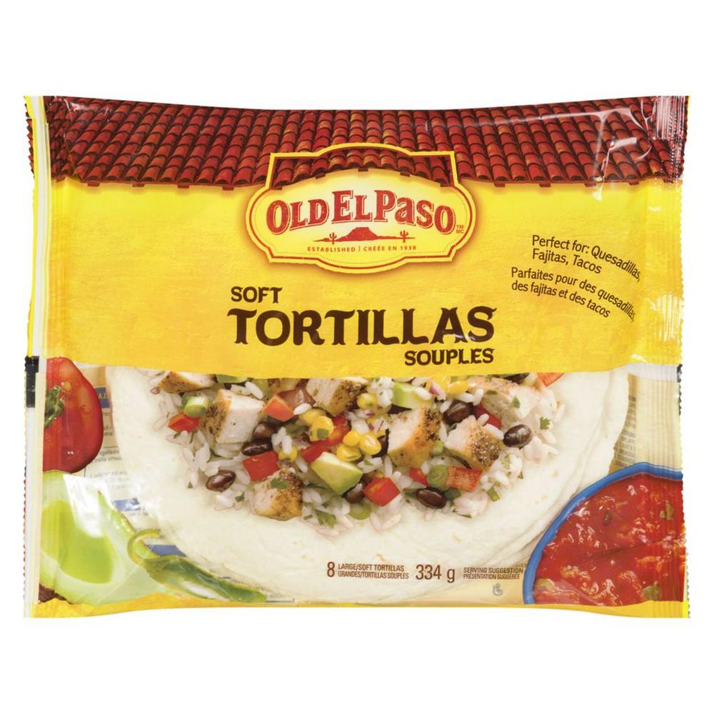 Soft tortillas large