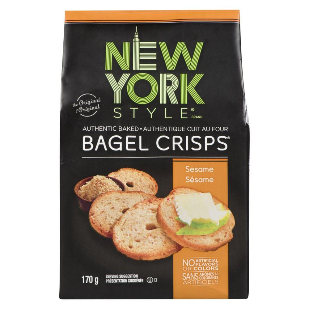 Bagel Crisps, Sesame