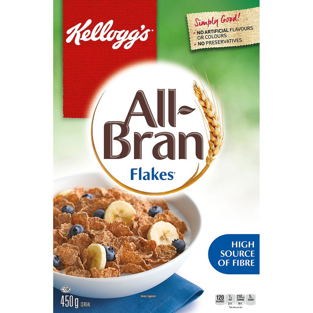 All-Bran Flakes Cereal