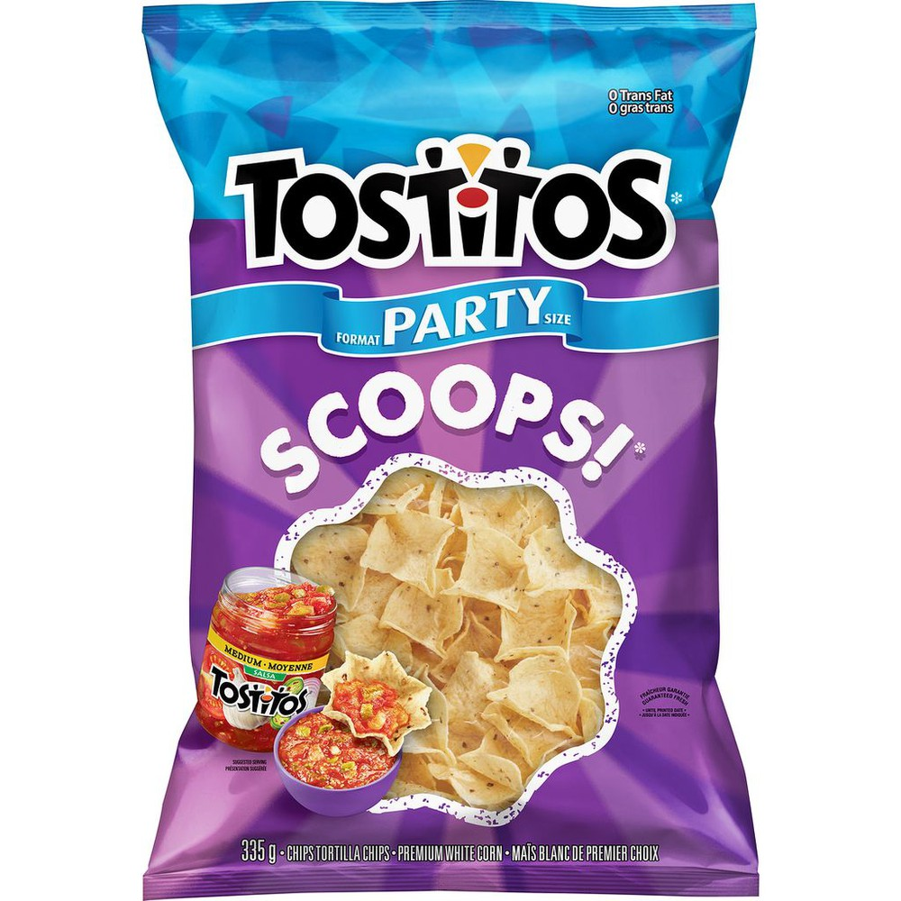 Tortilla Chips, Scoops!