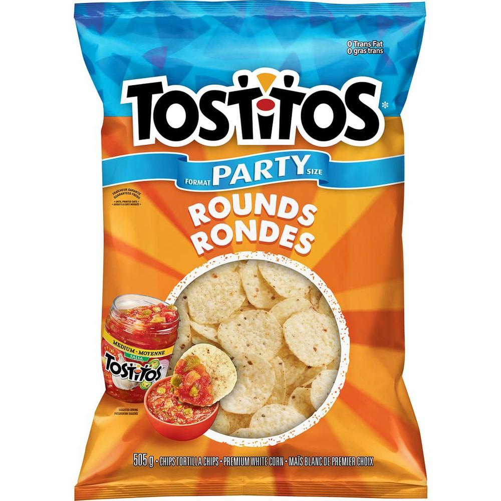 Tortilla Chips, Rounds