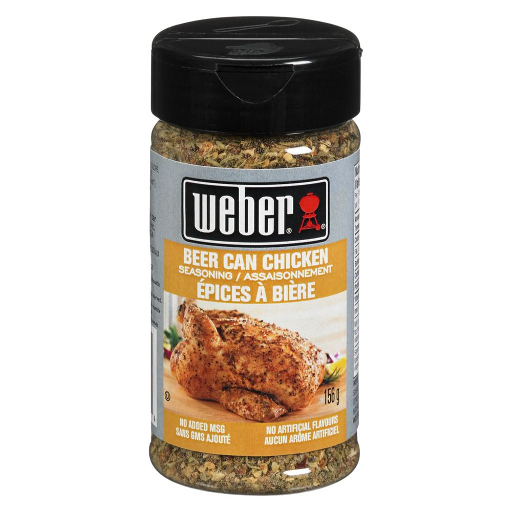 Beer Can Chicken Seasoning Weber 156 G Delivery Cornershop Canada