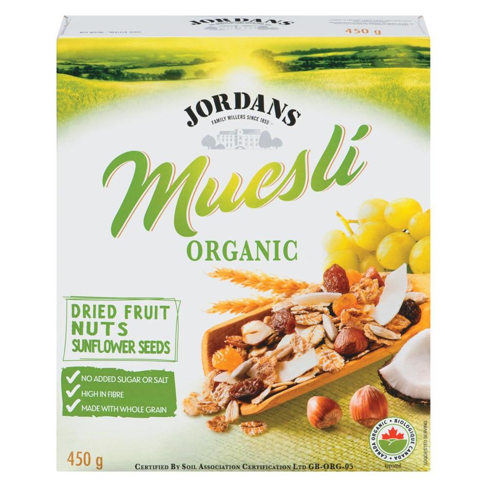 Muesli Organic Dried Fruit Nuts Sunflower Seeds