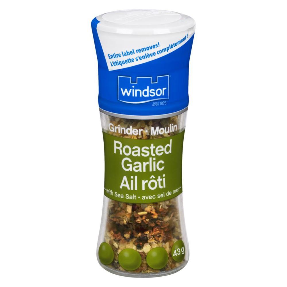 Roasted Garlic & Sea Salt Grinder