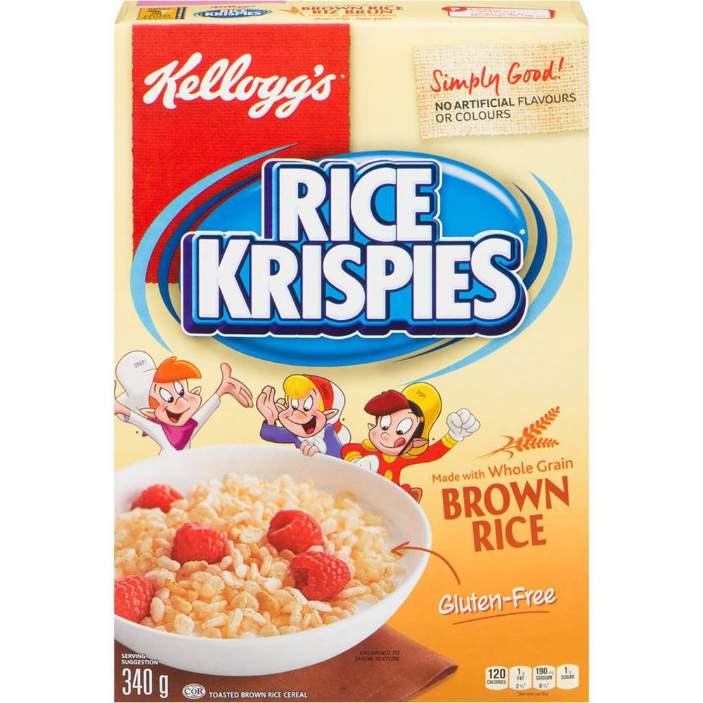 Rice Krispies Cereal Brown Rice, Gluten Free
