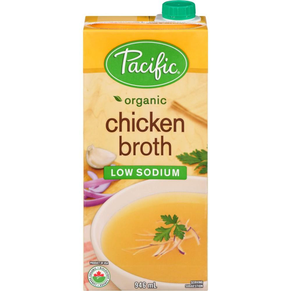 Low sodium organic chicken broth