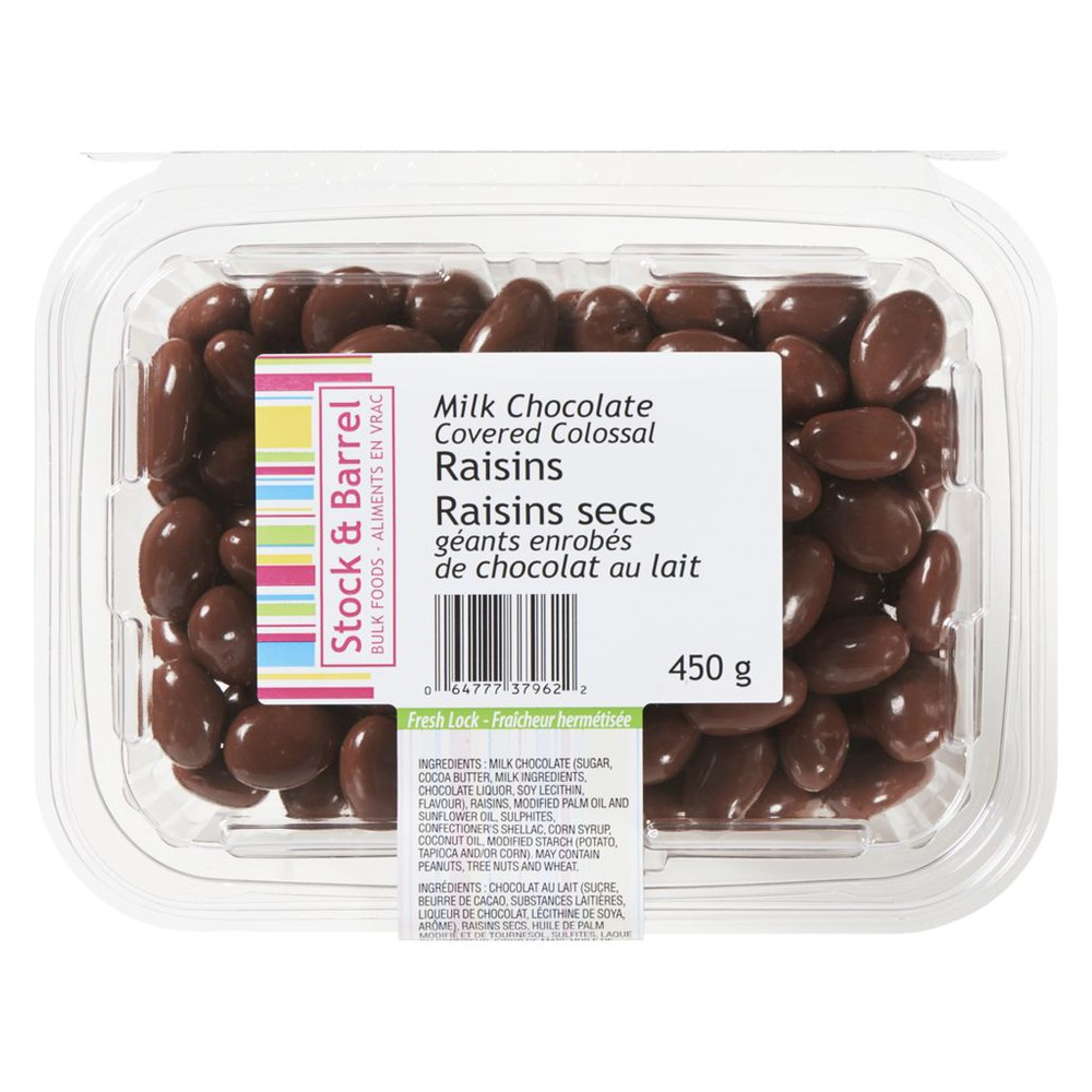 Colossal Milk Chocolate Covered Raisins