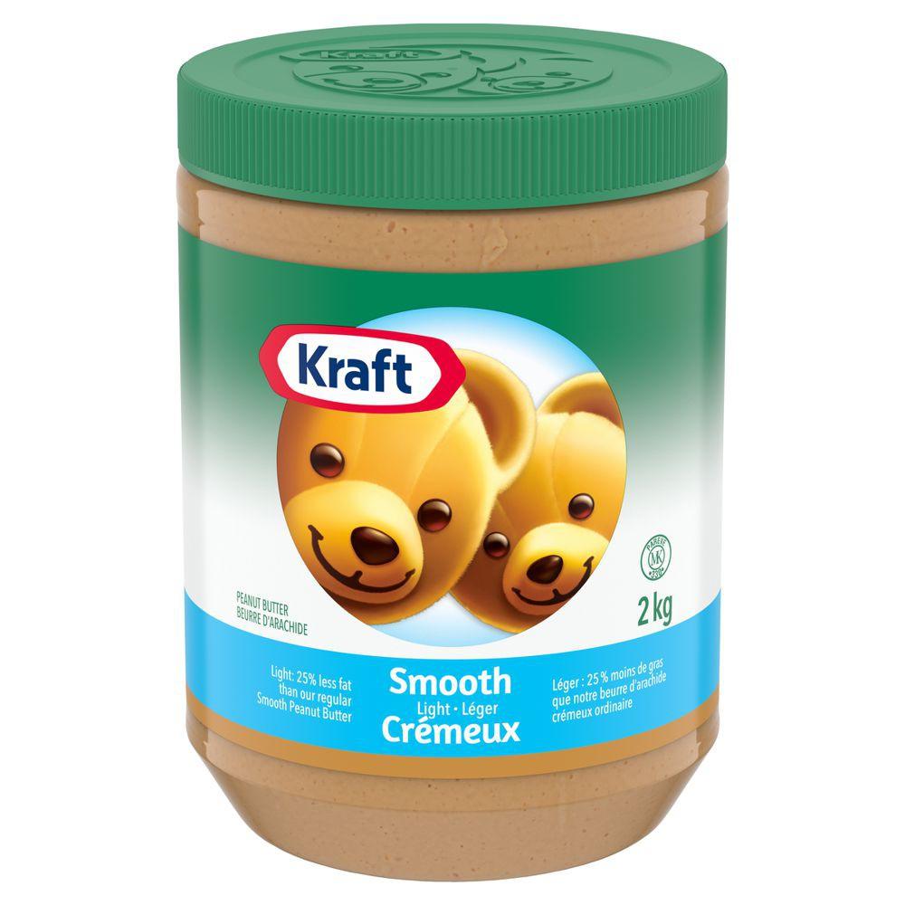 Peanut butter, smooth light
