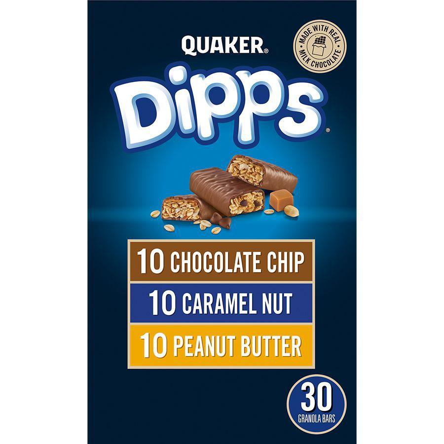 Triple play variety granola bars