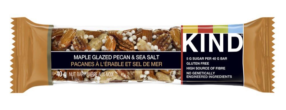 Grains bar maple glazed pecans & sea salt