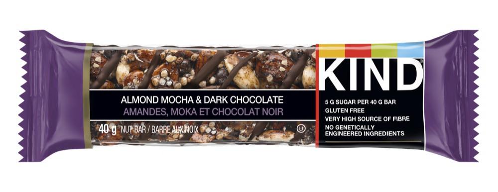 Grains bar almond mocha & dark chocolate