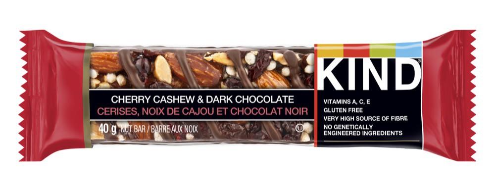Grains bar cherry cashew and dark chocolate