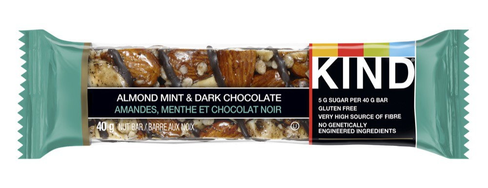 Grains bar almond mint & dark chocolate