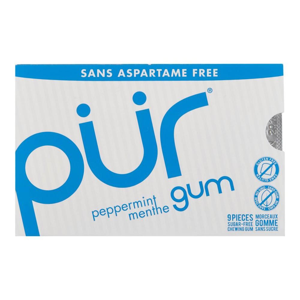 Peppermint gum 9 units