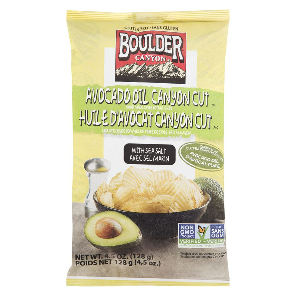 Avocado Oil Canyon Cut Potato Chips with Sea Salt
