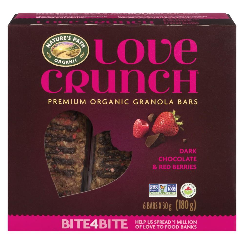 Love Crunch Dark Chocolate Red Berries Bar