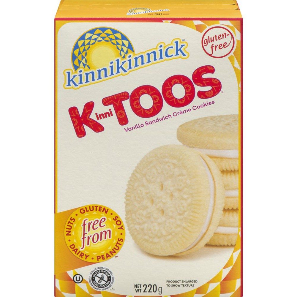 KinniTOOS, Vanilla Sandwich Crème