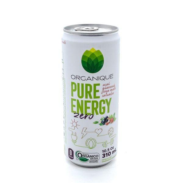 Pure energy zero sabor açaí, guaraná, erva mate e catuaba
