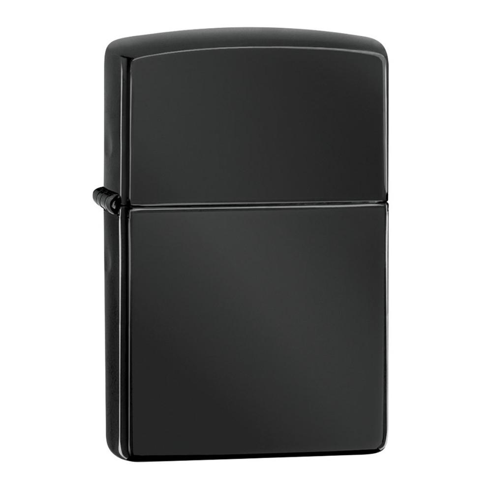 Encendedor zippo lighter classic high polish ebony negro