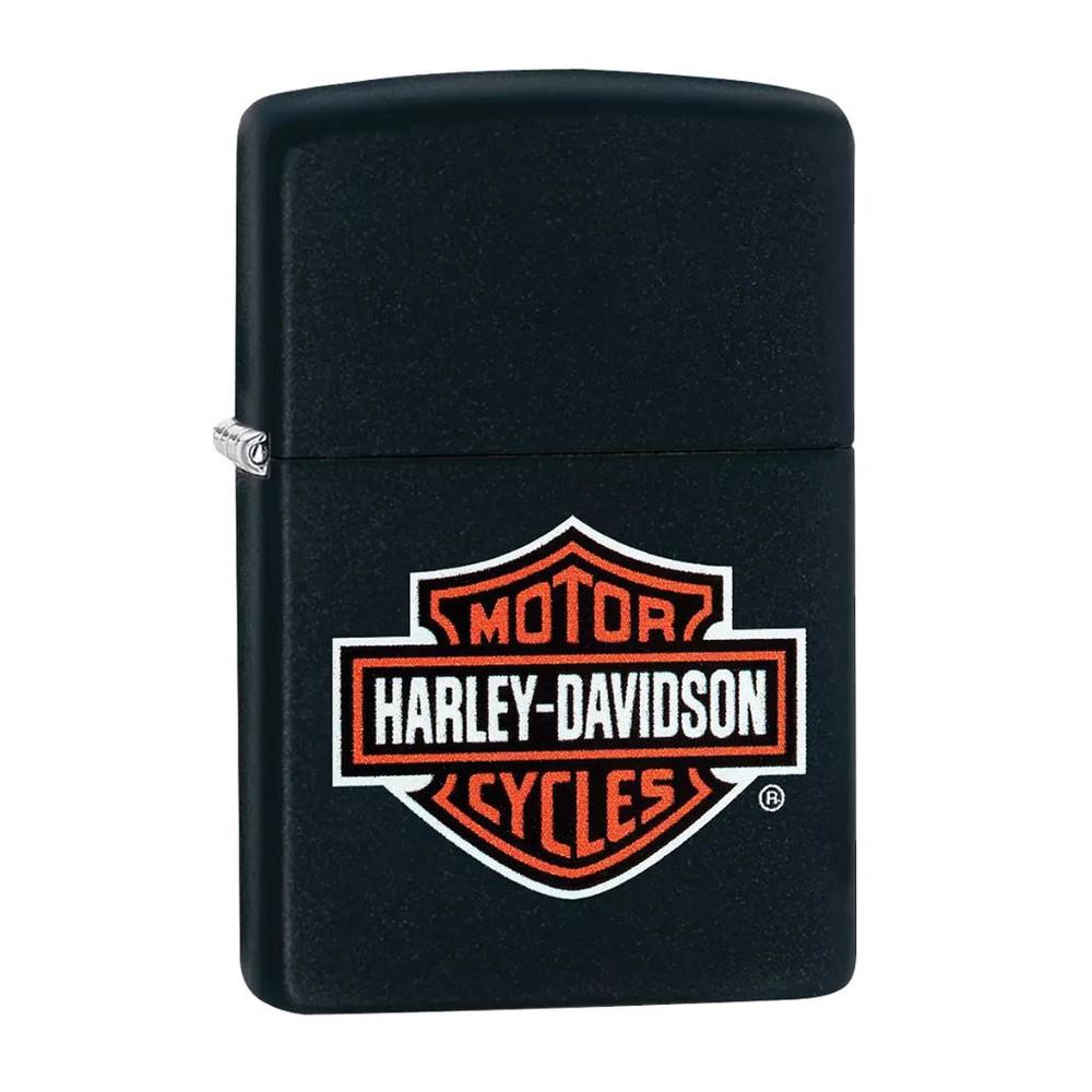 Encendedor zippo lighter harley – davidson® negro