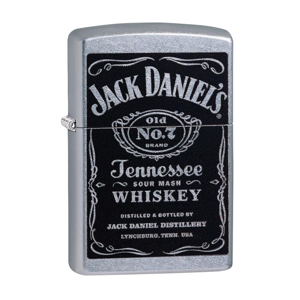 Encendedor zippo lighter jack daniel's label