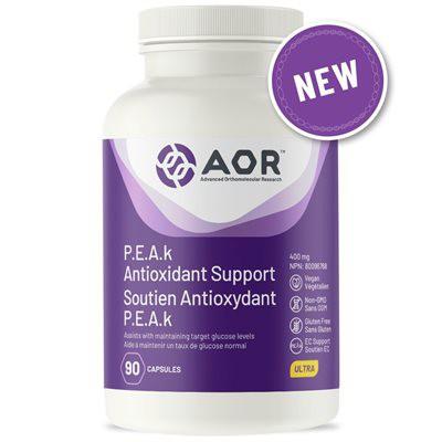 PEAK antioxidant support capsules