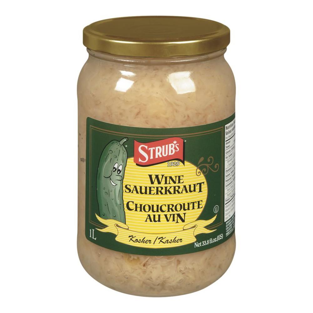 Kosher Wine Sauerkraut