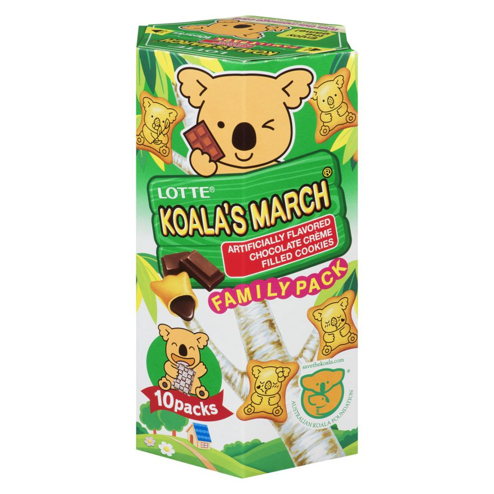 Koala's March chocolate cookies
