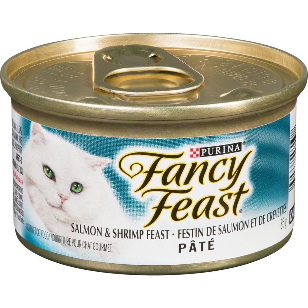Pate Salmon & Shrimp Feast Wet Cat Food 85 g