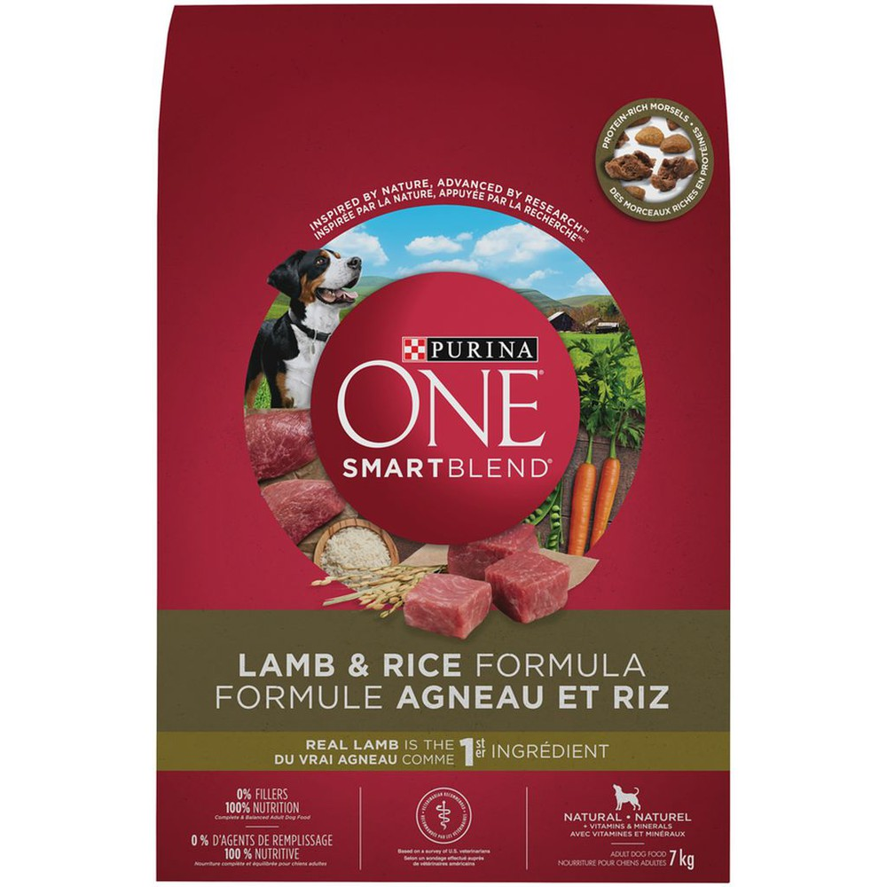 Smartblend lamb & rice natural adult dog food