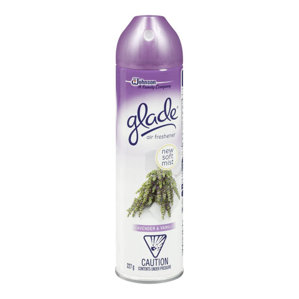 Aerosol lavender & vanilla