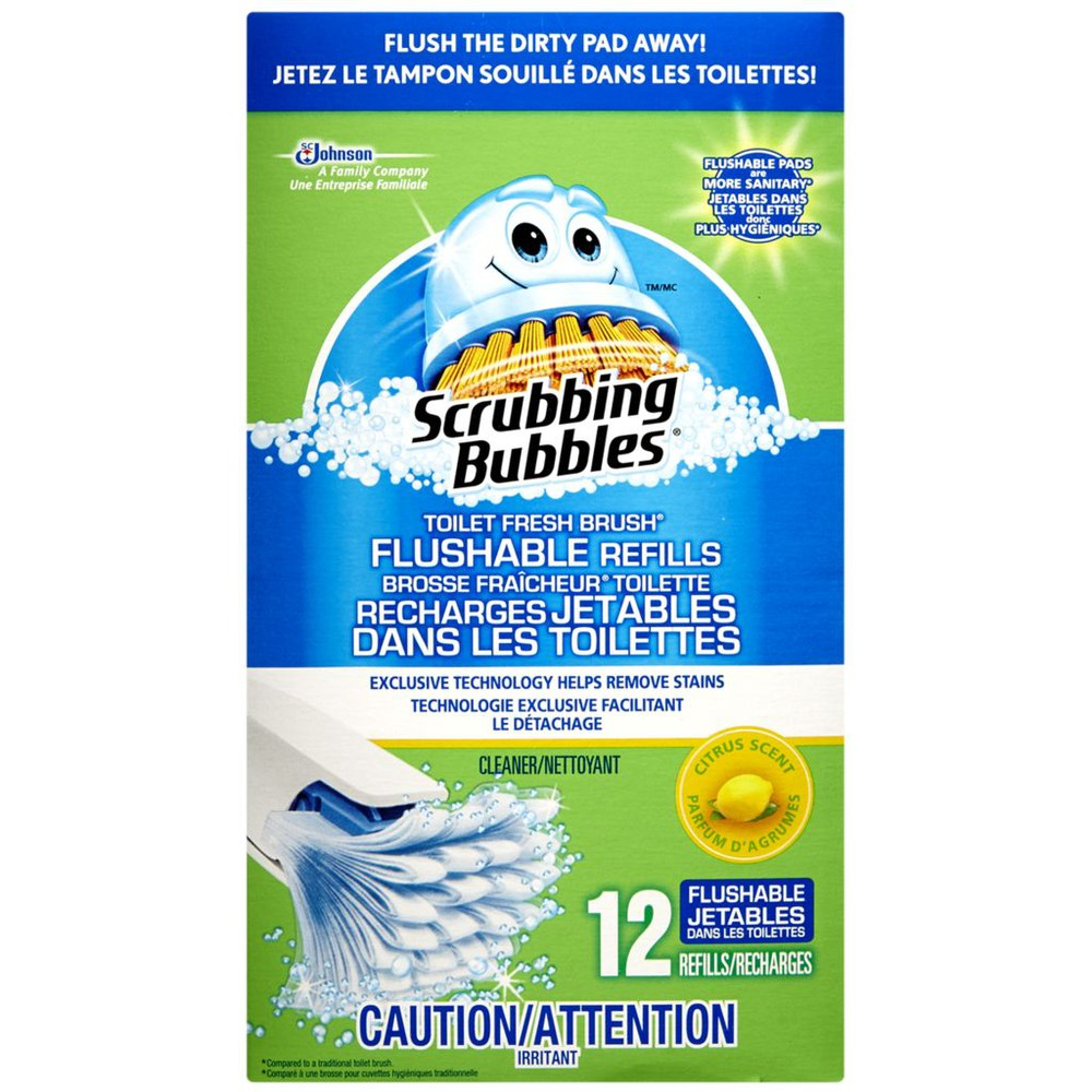 Toilet Brush Flushable Refills