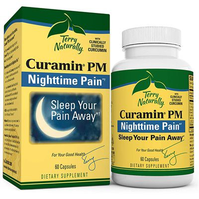 Curamin PM nighttime pain capsules